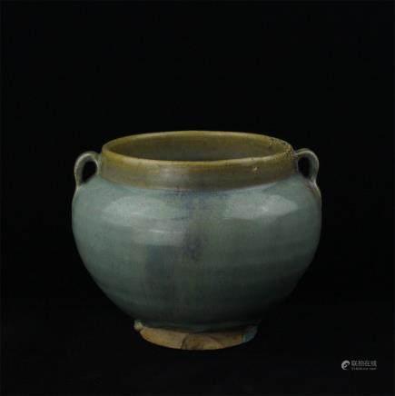 A Chinese Jun-Type Porcelain Jar