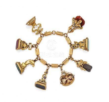 seal charm bracelet