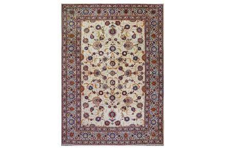 A FINE KASHAN CARPET, CENTRAL PERSIA approx: 13ft.2in.