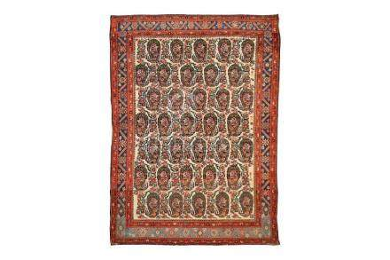 A FINE MALAYIR RUG, WEST PERSIA approx: 6ft.1in. x