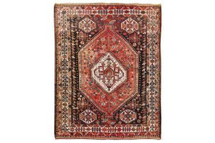 A SHIRAZ CARPET, SOUTH-WEST PERSIA approx: 6ft.10in. x
