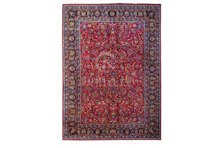 A FINE NORTH-EAST PERSIAN CARPET approx:13ft. x