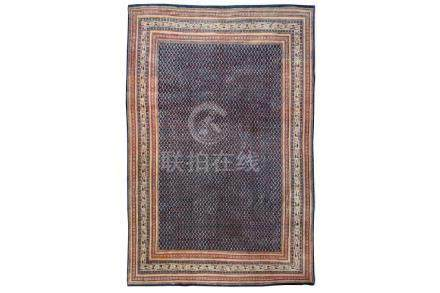 A FINE SERABAND CARPET, WEST PERSIA approx: 11ft.6in. x