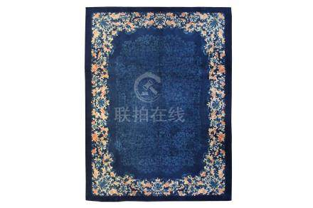 A FINE CHINESE CARPET approx: 11ft.5in. x