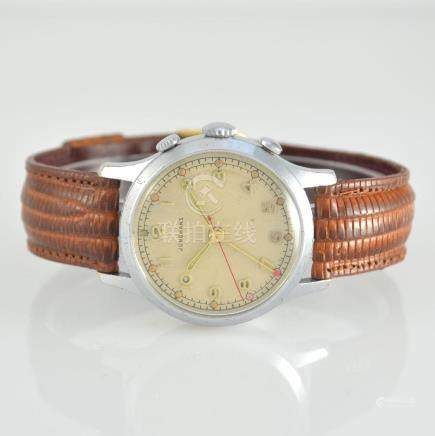 JUNGHANS alarm wristwatch, Germany around 1950