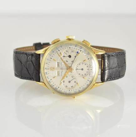 BAUME & MERCIER 18k gold intermediate wheel chronograph