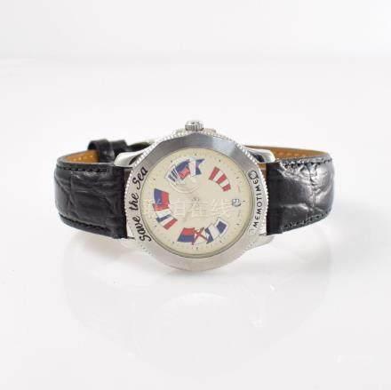 MEMOTIME/Corum gents wristwatch model Save the Sea