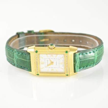 Jaeger-LeCoultre Reverso 18k gold ladies wristwatch