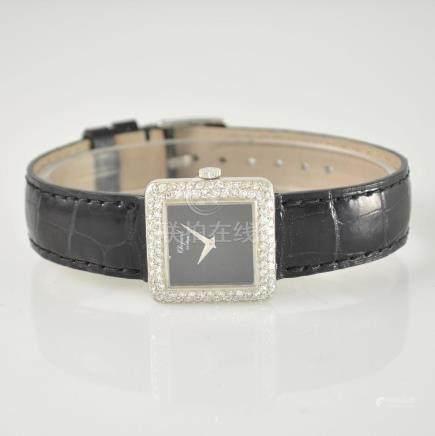 CHOPARD 18k white gold ladies wristwatch