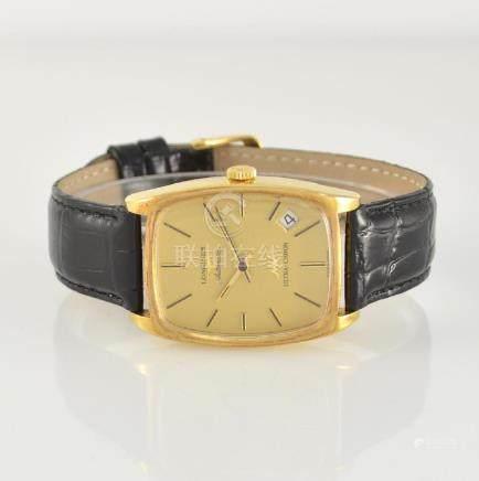 LONGINES ULTRA-CHRON 18k yellow gold wristwatch