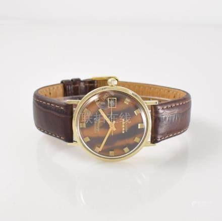 LONGINES 14k yellow gold Admiral gents wristwatch