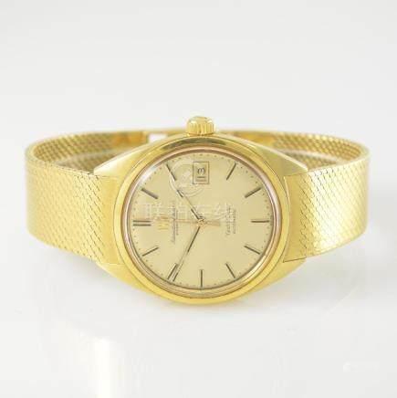 IWC 18k yellow gold Yacht Club gents wristwatch