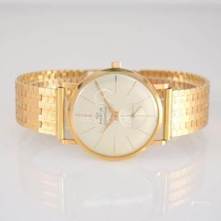 FORTIS 18k pink gold gents wristwatch Streamline