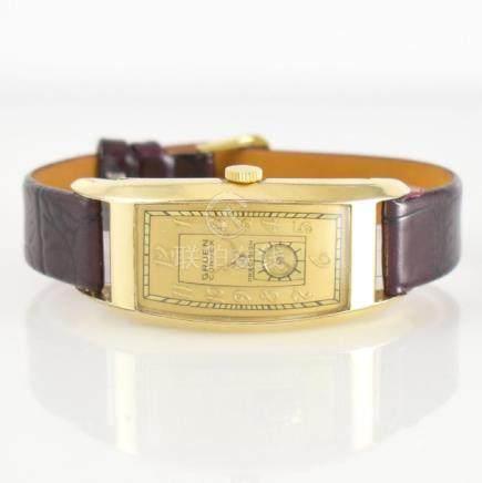 GRUEN Curvex rare big gents wristwatch
