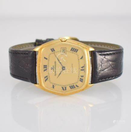 Jaeger-LeCoultre smooth 18k yellow gold gents