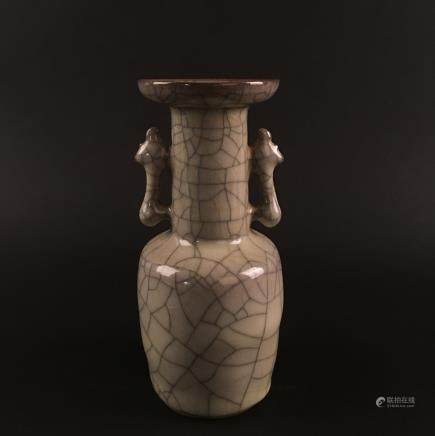 Chinese Guan Type Porcelain Vase