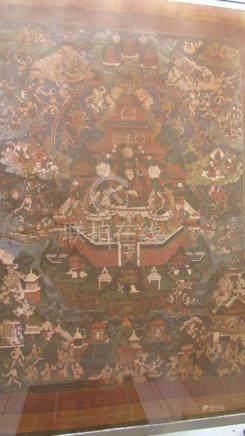 A Thangka Depicting A Shakya Senge