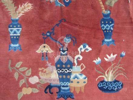 Beautiful Fine Wool Chinese Rug