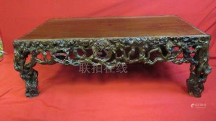 Chinese Rootwood Low Table