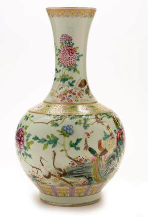 Chinese bottle vase.