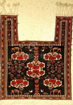 Gouchan 'horse blanket' old, Persia, fine, approx. 50