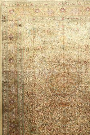Very fine large silk Hereke carpet, China, approx. 40