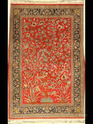 Qum Kurk rug, Persia, approx. 30 years, cork wool with