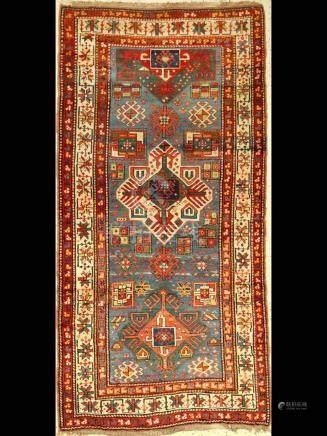 Karabagh rug old, Caucasus, around 1910, wool on wool