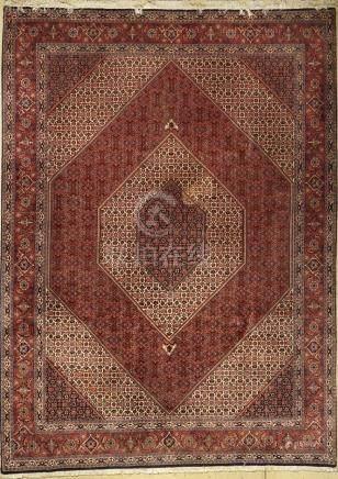 Bidjar carpet fine, Persia, approx. 30 years, cork wool