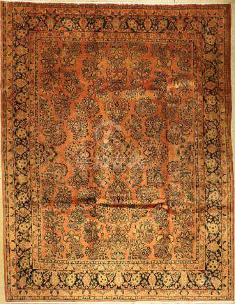 Saruk carpet old (Antique-Washed), Persia, approx. 60