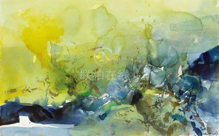 ZAO WOU-KI (ZHAO WUJI, FRANCE/CHINA, 1920-2013)