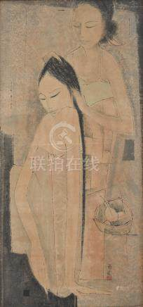 Tay Chee Toh (Singaporean, b. 1941) Two sisters
