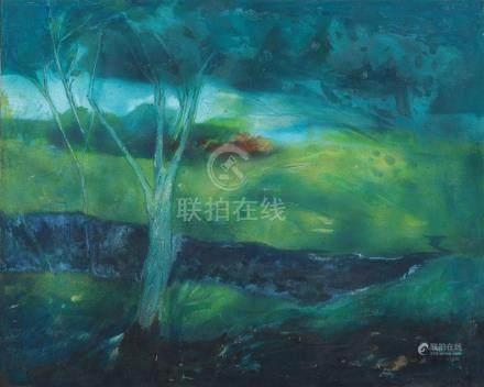 Thomas Yeo (Singaporean, b. 1936) Landscape