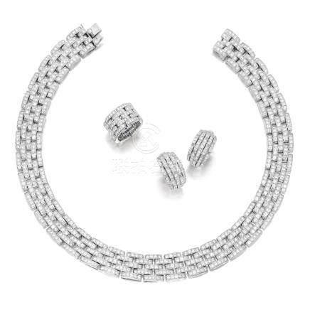 鑽石套裝, 'Maillon Panthère', 卡地亞(Cartier)