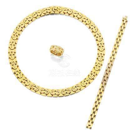 K黄金配鑽石珠寶首飾, 卡地亞(Cartier)