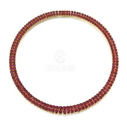 紅寶石項鏈