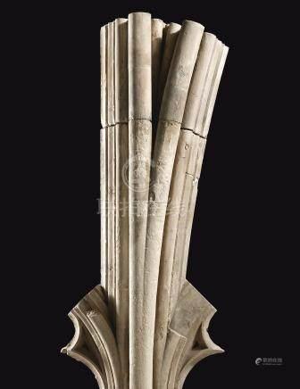 1428-1433年   英格蘭肯特郡坎特伯里座堂大南窗卡昂石灰石窗欞構件