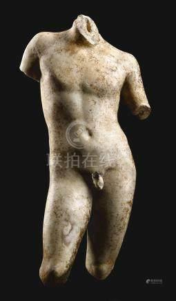 約公元二世紀   大理石愛神厄洛斯立像