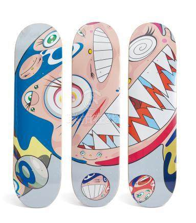 Murakami Takashi COMPLEXCON FLYING DOB DECK SET (SET OF THREE)