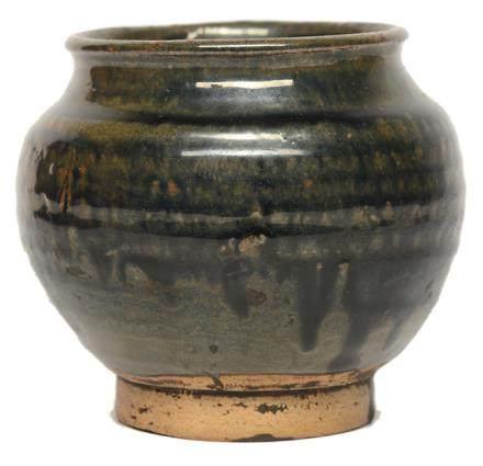 宋 黑釉罐