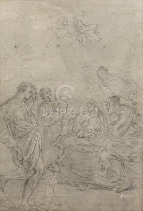 ECOLE FRANCAISE Première Moitié du XVIIIe siècle                           L 'A