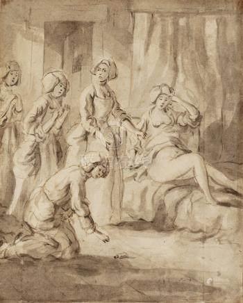 ECOLE FLAMANDE Dernier Tiers du XVIIIe siècle