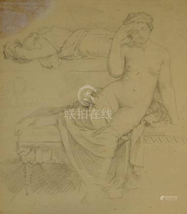 ECOLE FRANÇAIS NEOCLASSIQUE  Fin du XVIIIe - début du XIXe siècle   Etude