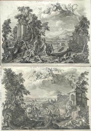 D'après Johann Wolfgang BAUMGARTNER (1709/12-1761).  Colligit in Autumo racemos