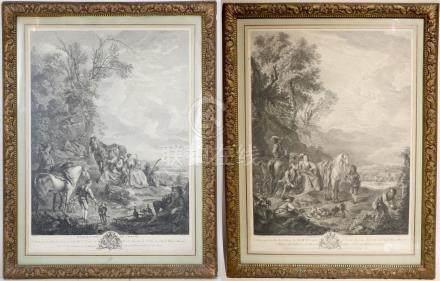 Carel VAN FALENS (1683-1733) d'après Jacques Philippe LE BAS (1707-1783). Rende