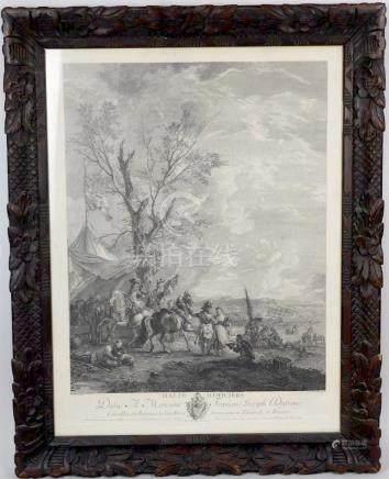 Jacques Philippe LE BAS (1707-1783), d'après Philippe WOUVERMANS (1619-1668). H