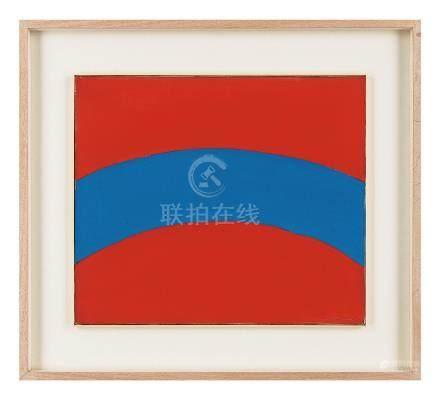 吉原治良(1905~1972) 圆的扩展 镜框 丙烯油画布
