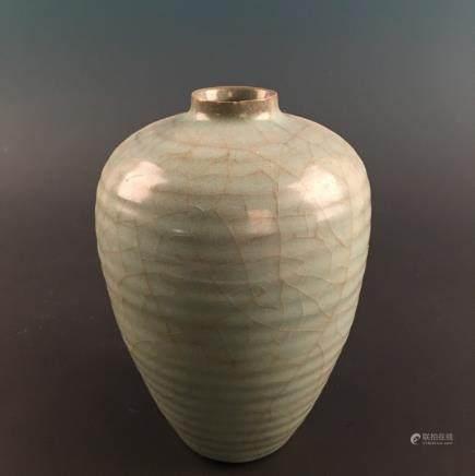 Chinese Celdon Glazed Vase