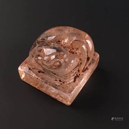 Chinese 'Ruishou' Jade Seal