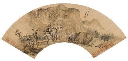 張宏 1577-1652後 秋風蕭瑟